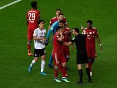 Tremenda polémica con el VAR en la final de la Copa de Alemania