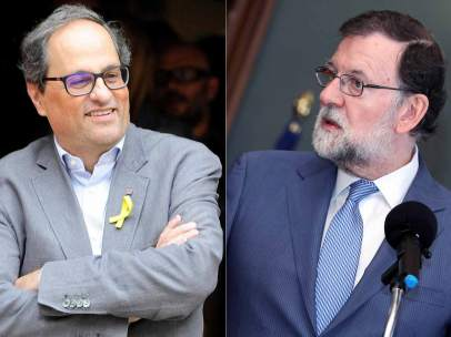 Torra y Rajoy