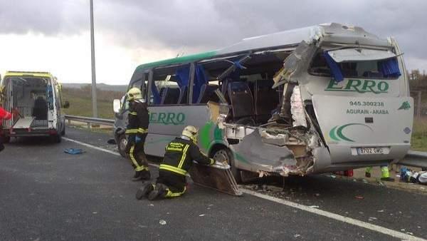 Accidente de autobús (archivo)