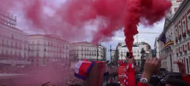 La fiesta del Atlético
