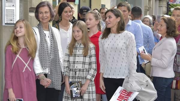 Las reinas y las infantas