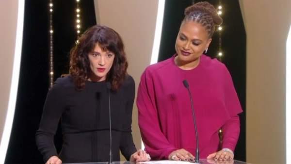 """Asia Argento, en Cannes: """"Fui violada aquí por Weinstein"""""""