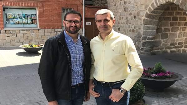 Sergio Gutiérrez y Álvaro Gutiérrez, PSOE
