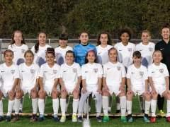 Las niñas del Madrid CFF se proclaman campeonas en una liga masculina