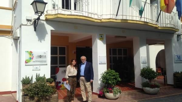 Los diptuados Ana Mata y Ramón del Cid en La Noria