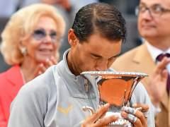 Nadal gana su octavo torneo de Roma y recupera el número 1 del mundo