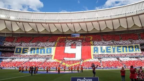 El Wanda Metropolitano le dedicó un precioso homenaje a Fernando Torres.