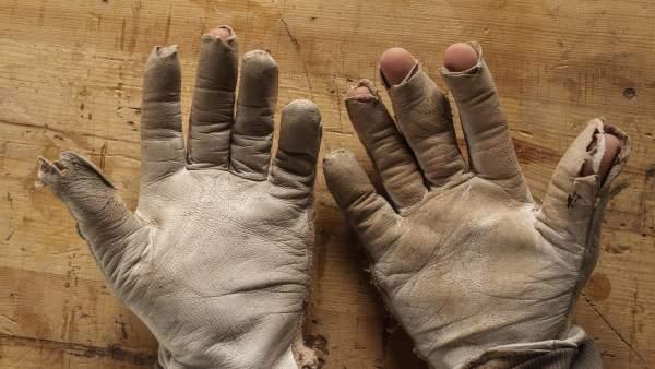 Manos de un artesano
