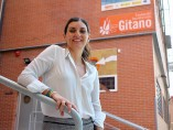 Sara Giménez en la Fundación Secretariado Gitano