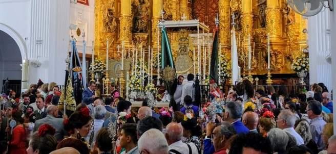 Misa de Romeros en El Rocío