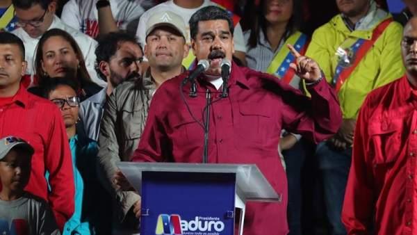 Nicolás Maduro, reelegido presidente de Venezuela