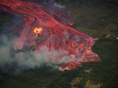 La lava del Kilauea se acerca a una planta geotérmica con sustancias tóxicas