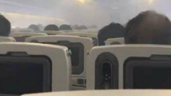 Evacúan un avión en Tokio tras llenarse la cabina de humo
