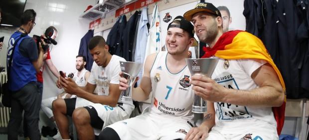 Felipe Reyes y Luka Doncic