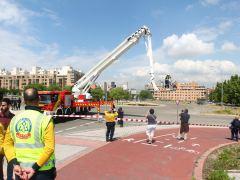 La rotura de una tubería deja sin agua a varios distritos de Madrid