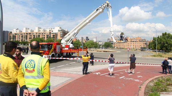Una rotura deja sin agua a varios distritos de Madrid