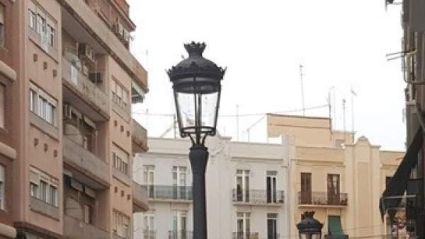 Segunda fase del plan de renovación de alumbrado de València