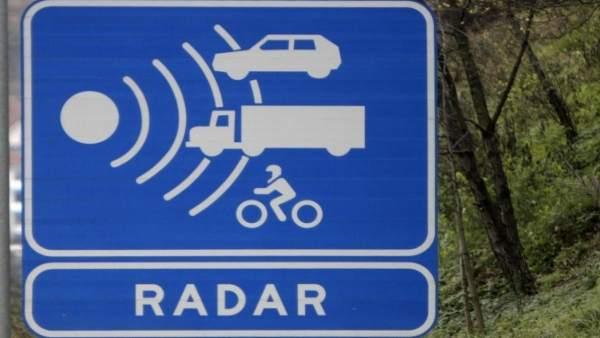 Radar móvil en Majadahonda