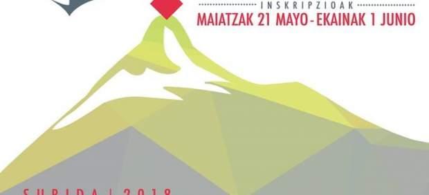 Cartel de la Marcha al Serantes, en su sexta edición