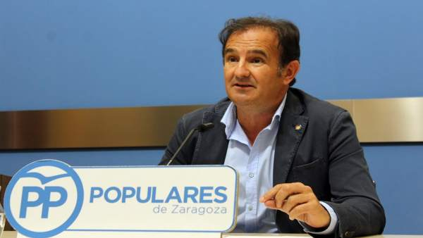 El concejal del PP Ángel Lorén