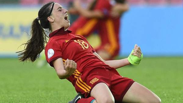 Eva Navarro, selección española sub-17