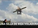 Silla de Ikea voladora