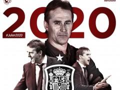Julen Lopetegui renueva como seleccionador hasta 2020