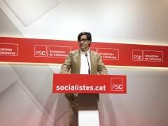 """El PSC está en """"sintonía"""" con el PSOE sobre Torra"""
