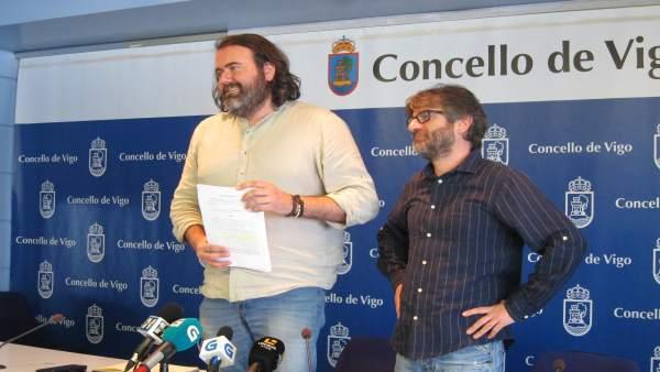 Rueda de prensa de Marea Vigo.
