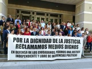 Huelga de jueces y fiscales