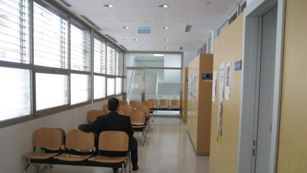 Sala de espera de un ambulatorio.
