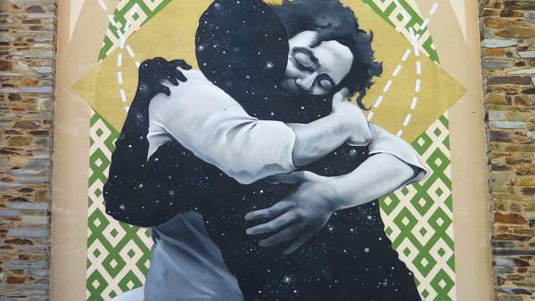 Mural del artista Sojo