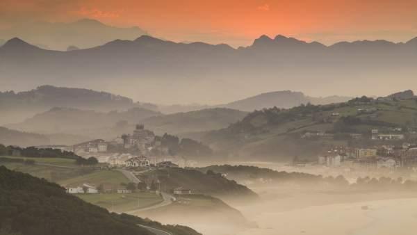 San Vicente de la Barquera, en Cantabria.