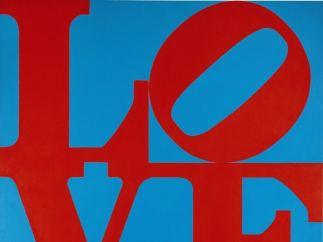 'LOVE', de Robert Indiana.