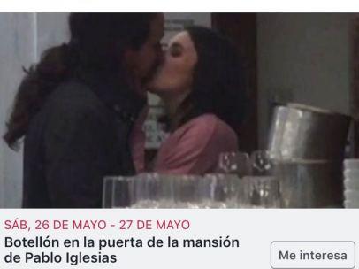 Proponen hacer un botellón en la puerta de la nueva mansión de Pablo Iglesias e Irene Montero