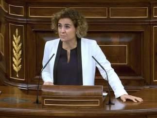 La ministra Dolors Montserrat en el Congreso
