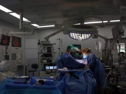 Plano de un quirófano en Vall d`Hebron.