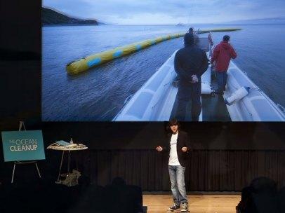 Boyan Slat, la esperanza de los océanos