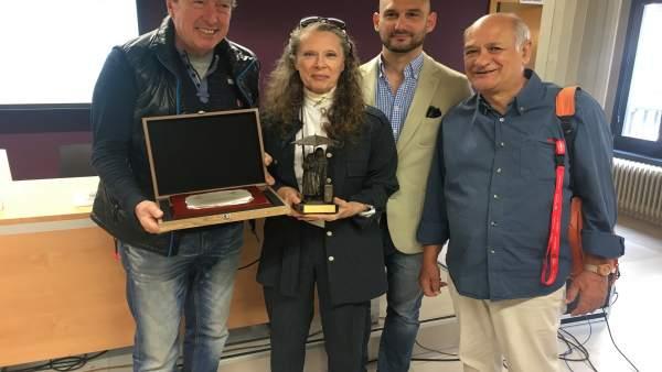 Valladolid.- Carlos Gil, Lilyane Drillon, Rafael Herrera y Javier Martínez