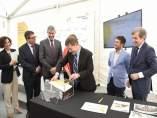 Colocación de la primera piedra de la planta fotovoltaica de Carpio de Tajo