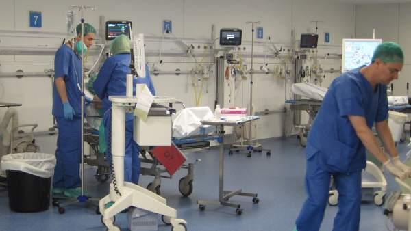 Hospital, operación.