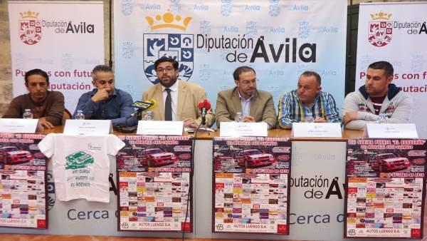 Sánchez Cabrera durante la presentación de la subida al Puerto 23-5-2018