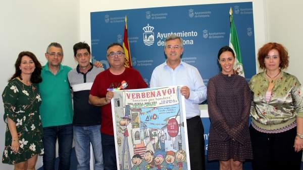 Estepona presenta la verbena solidaria de AVOI