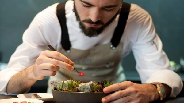 Cocinero del Eneko Atxa
