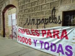 El encierro de migrantes convoca una manifestación en Barcelona este domingo contra el racismo