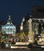 Plaza De Cibeles Y Edificio Metrópolis, Madrid