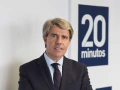 Ángel Garrido, en la redacción de 20minutos.