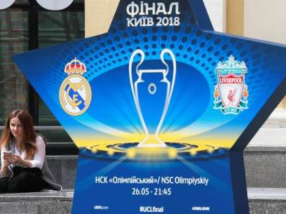 Kiev, lista para la final de la Champions League 2017/2018.