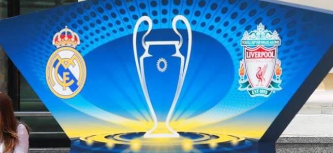Kiev, lista para la final de la Champions League 2017/2018.
