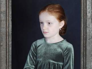 Portrait of Liv (with frame), 2018 © Gabriella Gerosa, cortesía Ivorypress